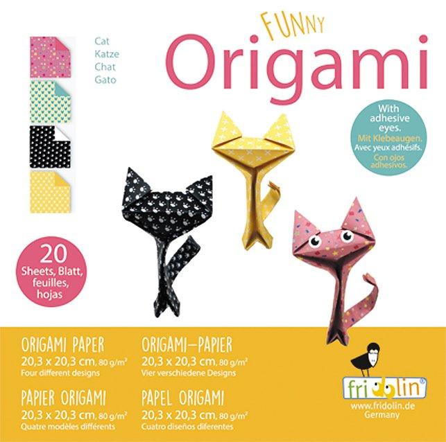 Origami Funny Cats 2 Olika