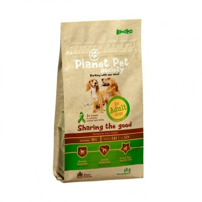 Planet Pet Society Adult 15 Kg