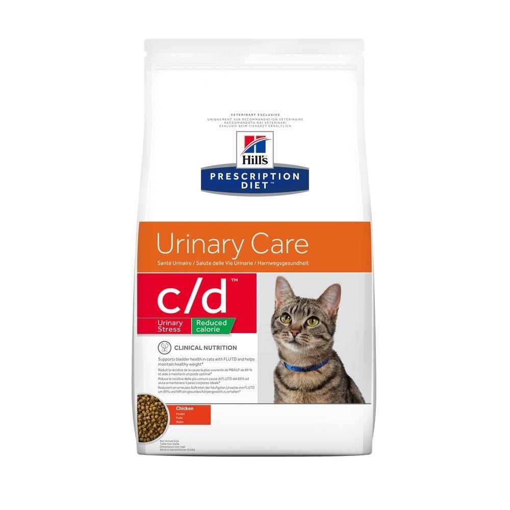 Prescription Diet Feline C/D Urinay Stress Reduced Calorie Chicken 1