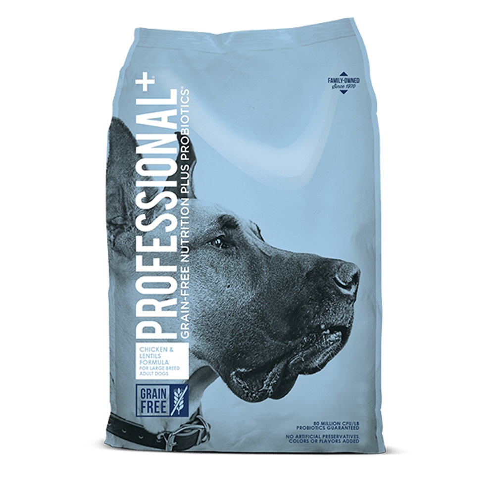 Professional+ Large Breed Chicken & Lentils 12