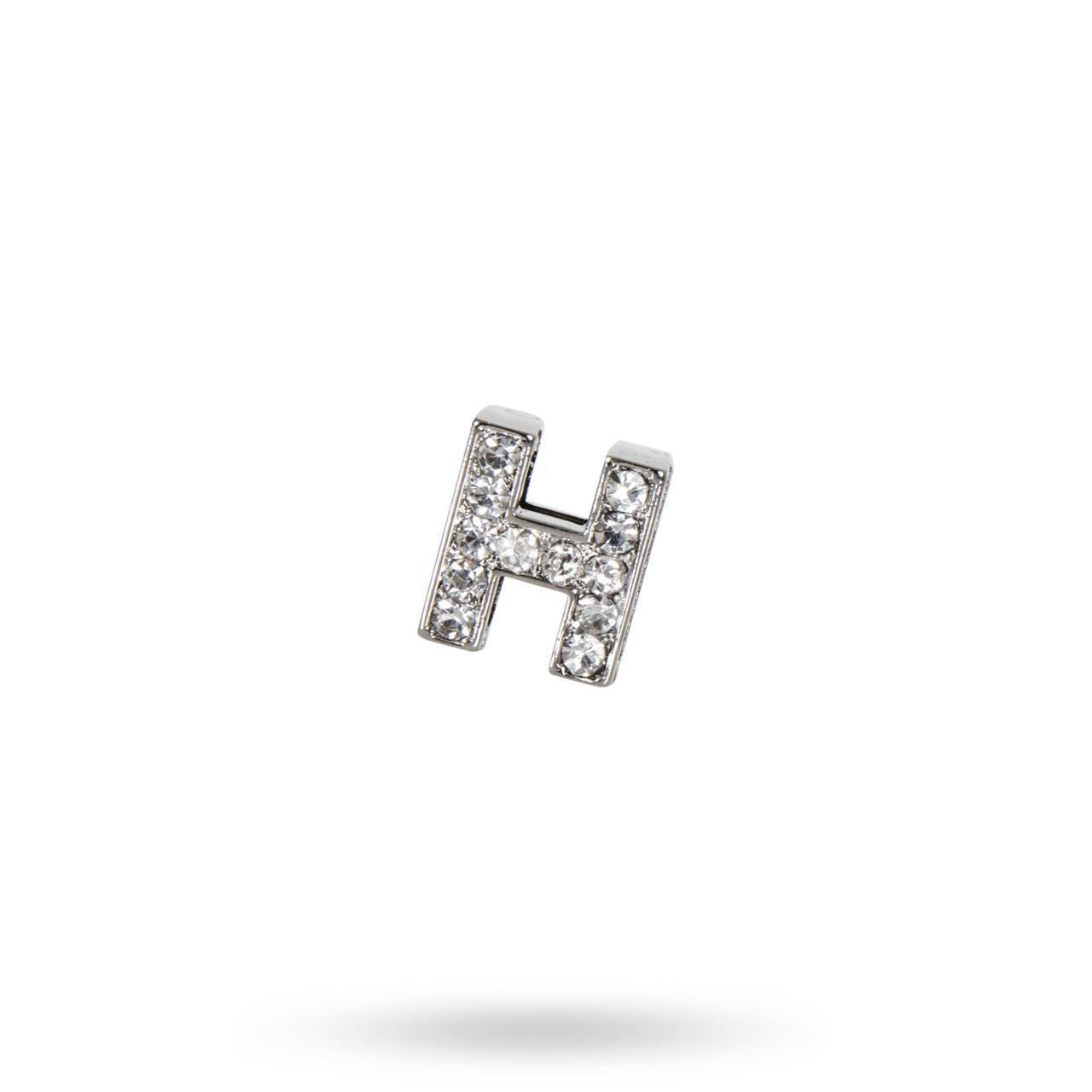 Rhinestone Crystal Letters H