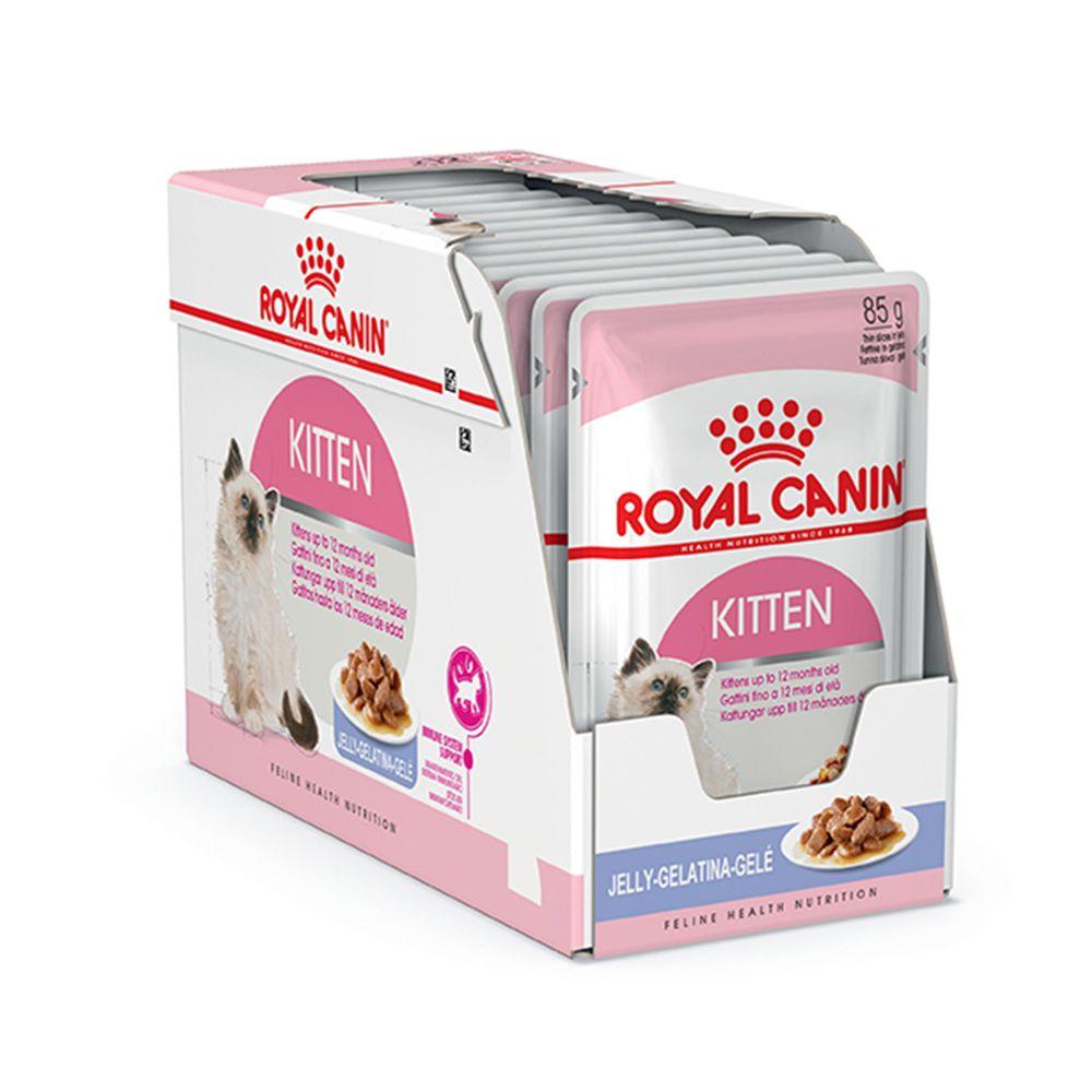 Royal Canin Kitten Instinctive Gelé Wet 12X85G