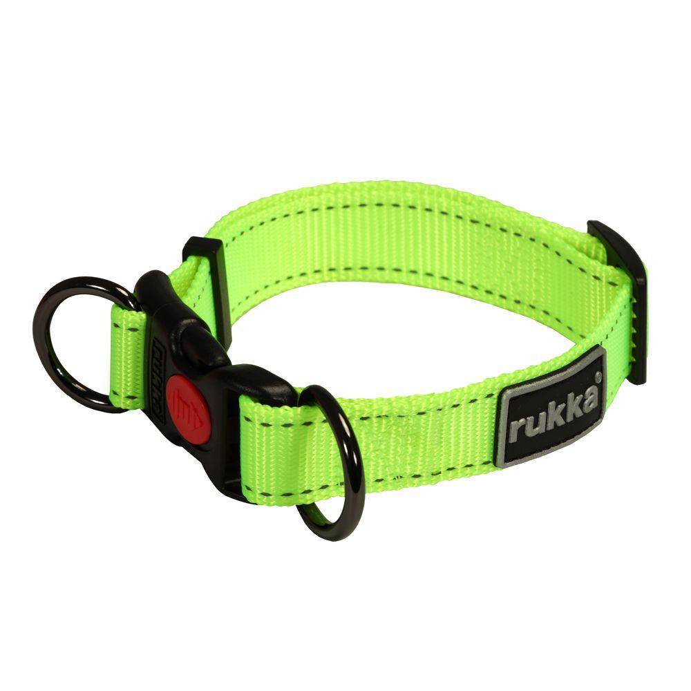 Rukka Bliss Neon Halsband Gul 45-70 Cm