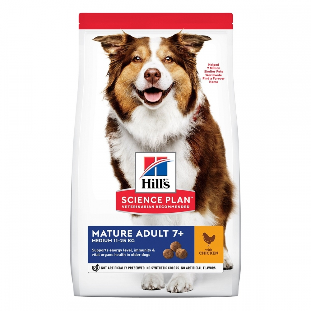 Science Plan Mature Adult Medium Chicken Med Kyckling För Hund 14 Kg