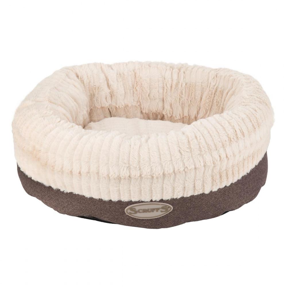 Scruffs Ellen Donut Hundbädd Grå XL
