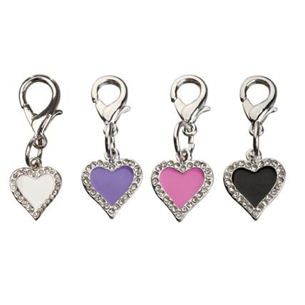 Smyckeshänge Strass Hjärta