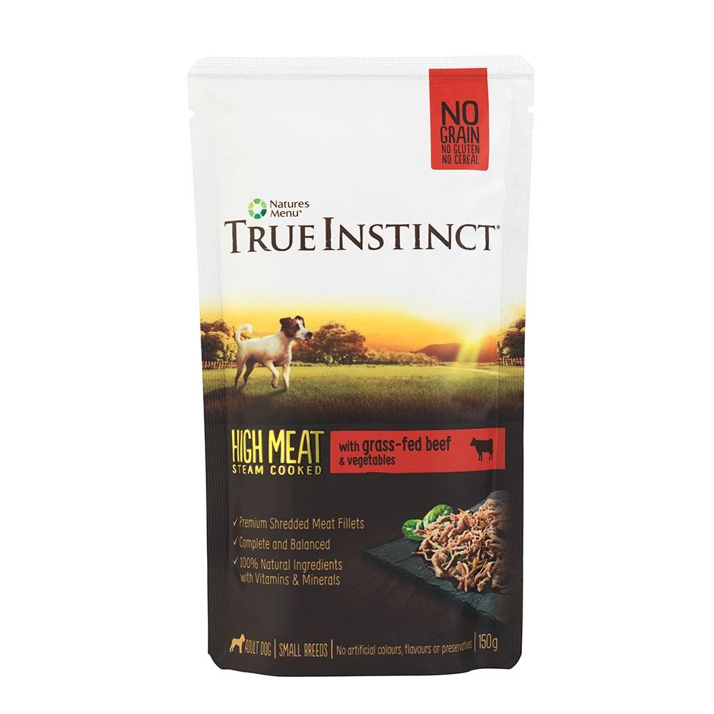 True Instinct Highmeat Dog Beef 300 G