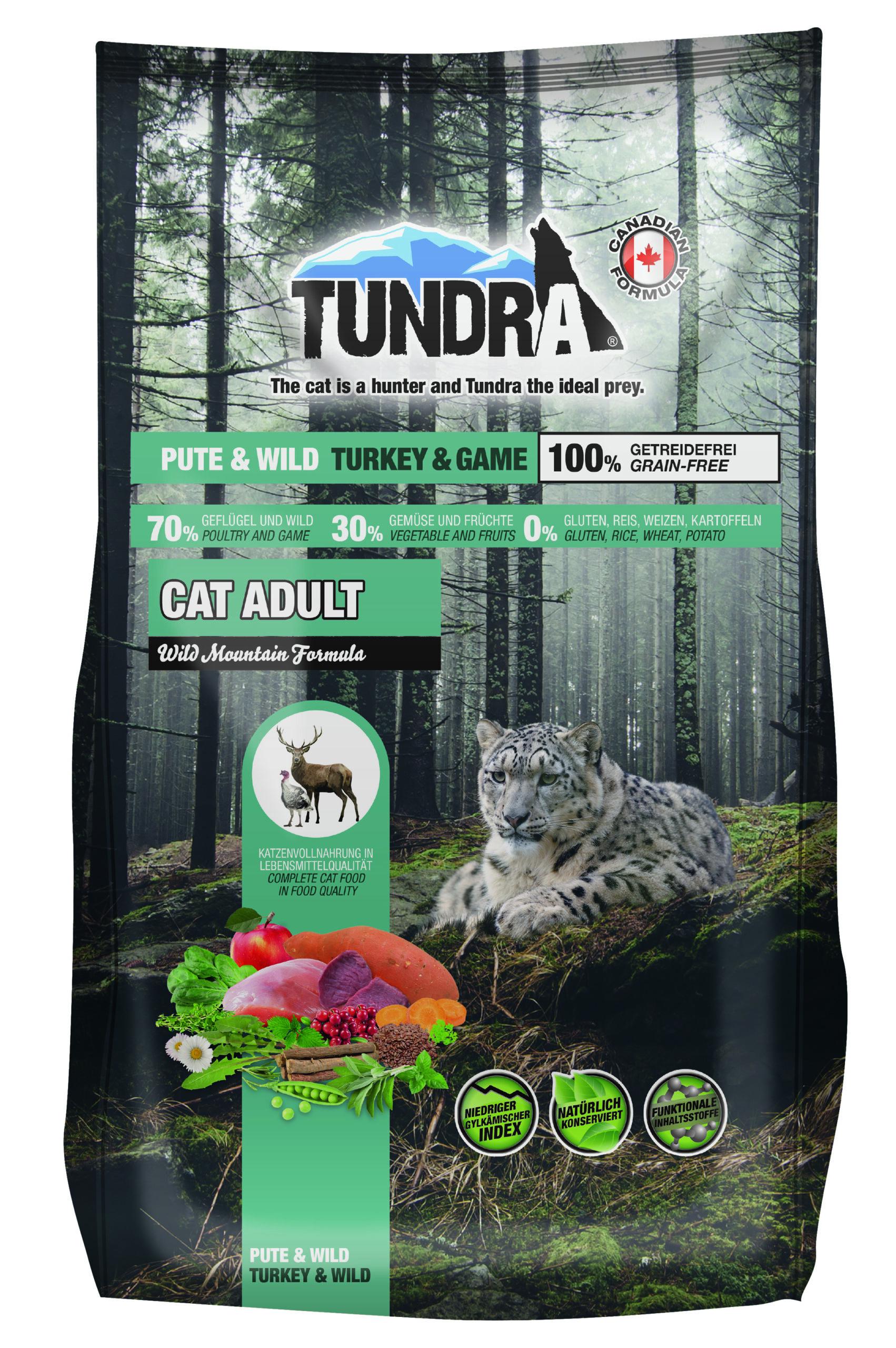 Tundra Kattfoder Kalkon & Vilt 1