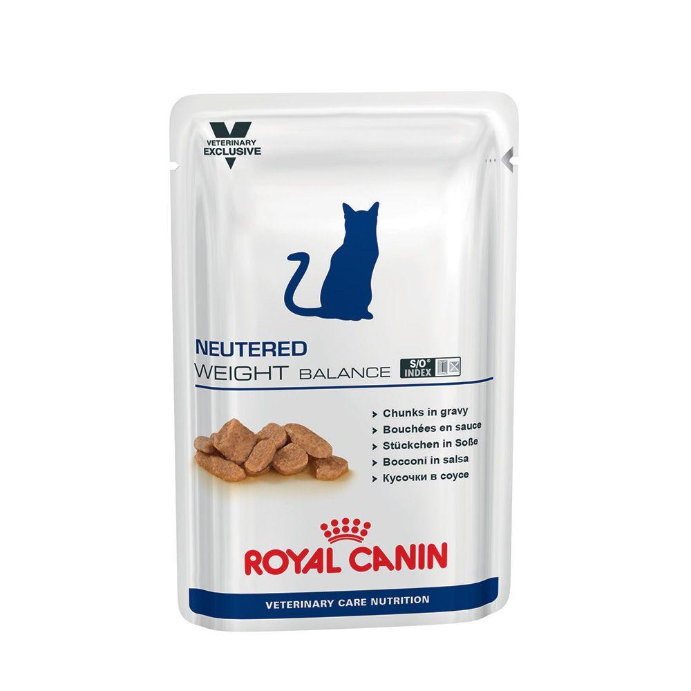 Veterinary Care Nutrition Cat Neutered Weight Balance 12X100G