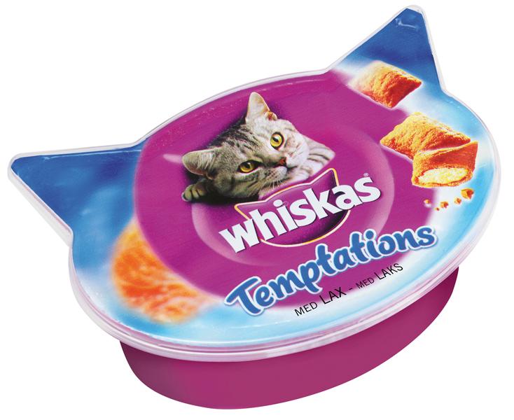 Whiskas Temptations Med Lax