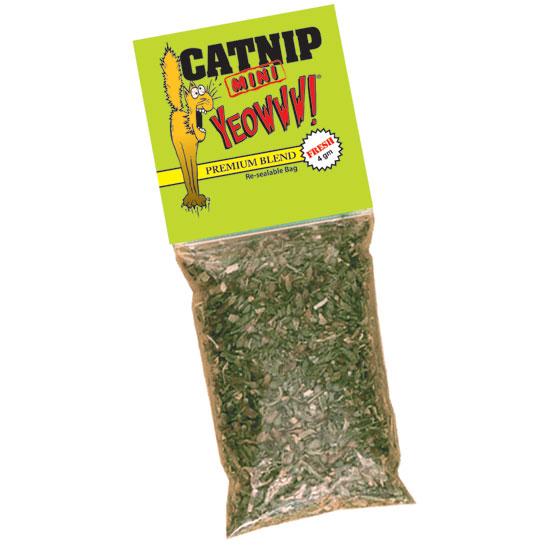 Yeowww Torkad Kattmynta Mini Catnip